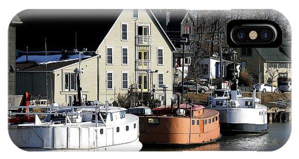 Port Stanley Docks IPhone Case