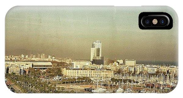 Beautiful iPhone Case - Port Vell - Barcelona by Joel Lopez