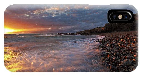 Porth Swtan Cove IPhone Case