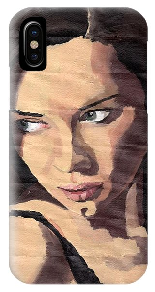 Portrait Of Sammy Paige IPhone Case