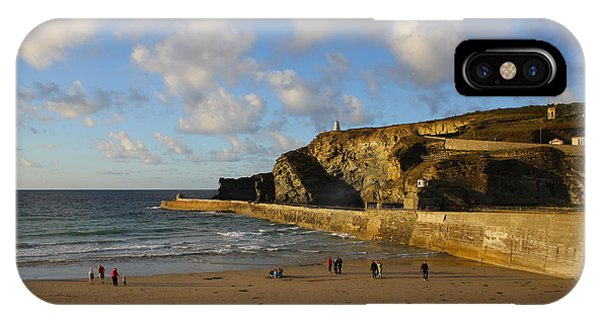Portreath Beach IPhone Case