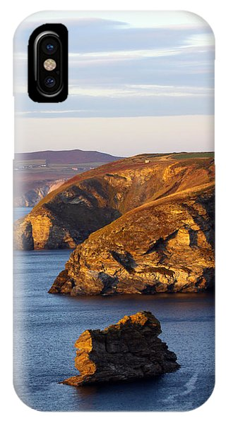 Portreath North Cliffs IPhone Case