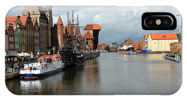 Postcard From Poland Phone Case by Sophie Vigneault