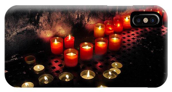 Prague Church Candles IPhone Case