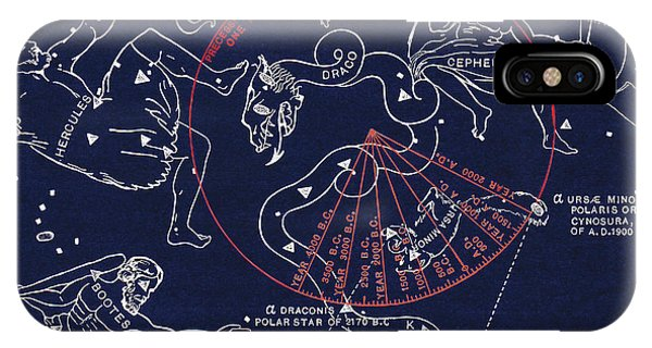 Precession Of The North Celestial Pole Phone Case by Sheila Terry