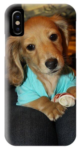 Precious Puppy IPhone Case