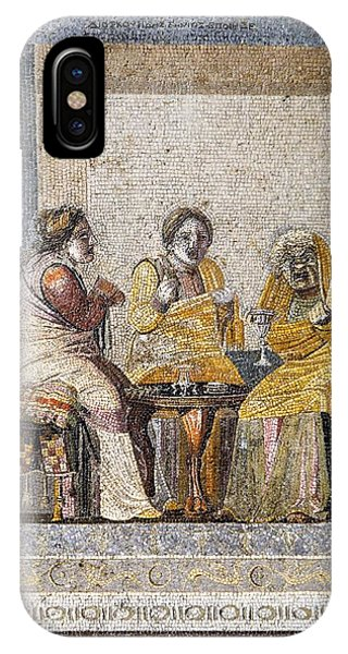 Preparing A Love Potion, Roman Mosaic Phone Case by Sheila Terry