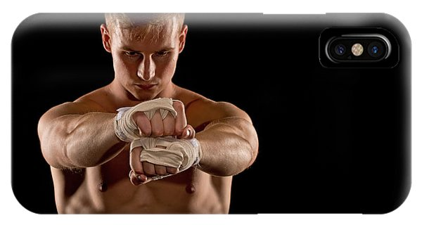 Preparing For The Fight IPhone Case