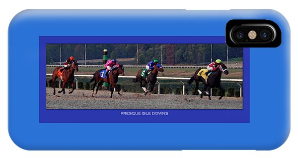 Presque Isle Downs IPhone Case