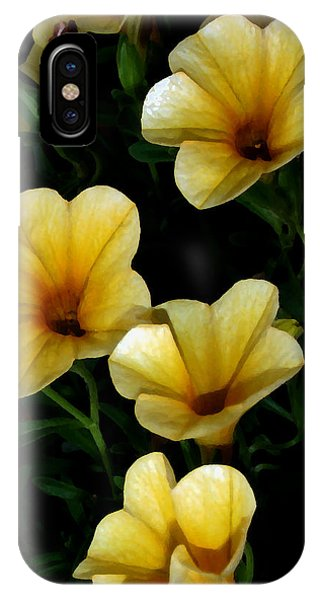 Pretty In Yellow IPhone Case