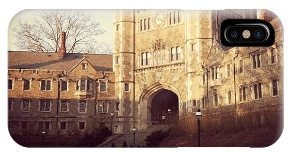 School iPhone Case - Princeton by Kristenelle Coronado