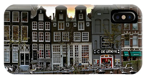 Prinsengracht 458. Amsterdam IPhone Case