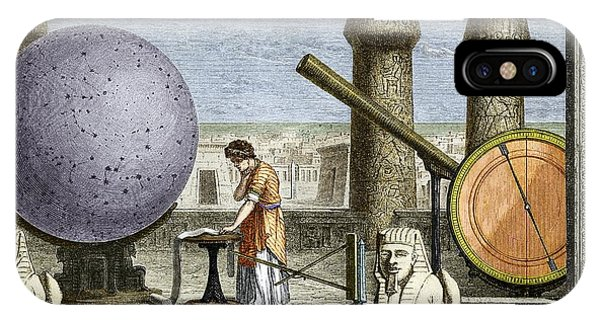 Ptolemy's Observatory, 2nd Century Ad Phone Case by Sheila Terry