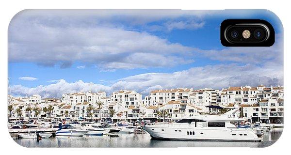 Powerboat iPhone Case - Puerto Banus In Spain by Artur Bogacki