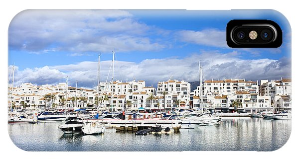 Puerto Banus Marina On Costa Del Sol IPhone Case