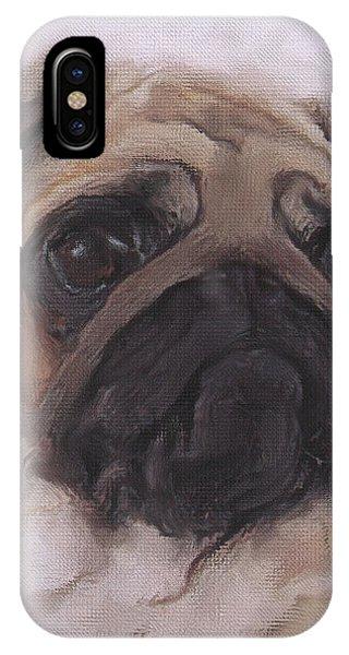 Pug - Thoughtful IPhone Case