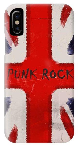 Punk Rock Phone Case by Sharon Lisa Clarke