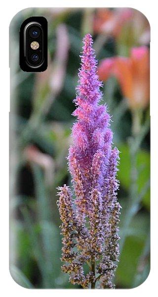 Purple Spear IPhone Case