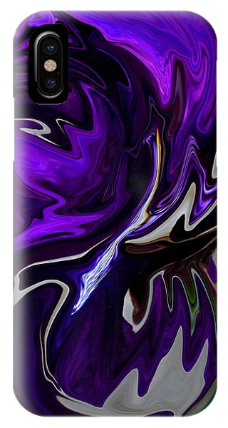 Purple Swirl IPhone Case