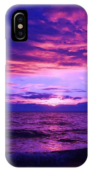 Purplosion IPhone Case