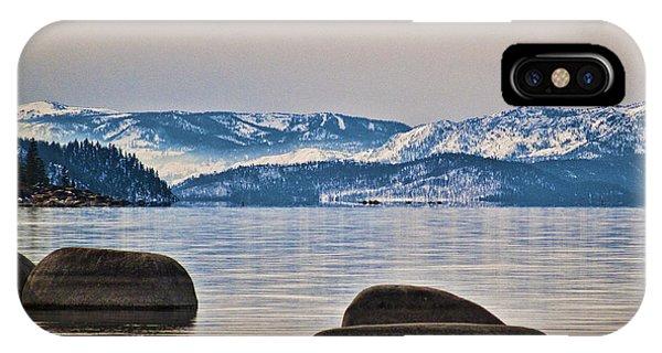 Quiet Lake Tahoe IPhone Case