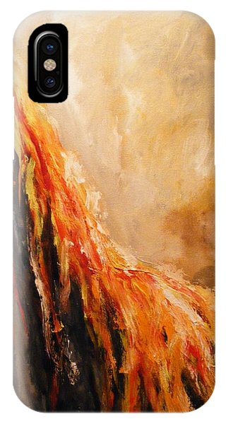 Quite Eruption IPhone Case