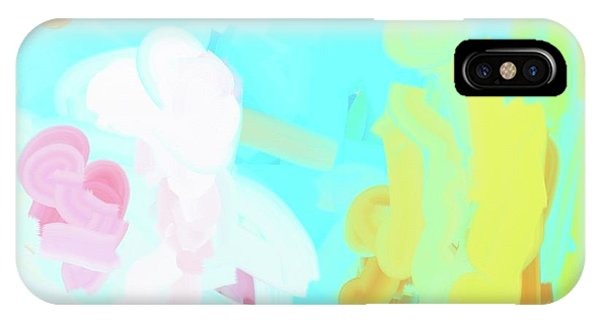 Radiant Water Libation IPhone Case