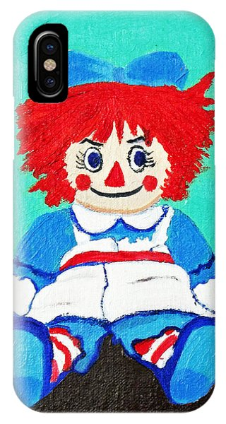 Raggedy Ann With An Attitude IPhone Case