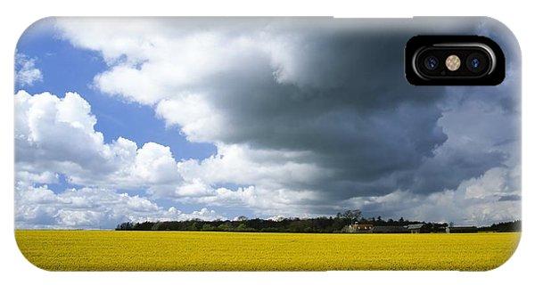 Rain Clouds Phone Case by Adrian Bicker
