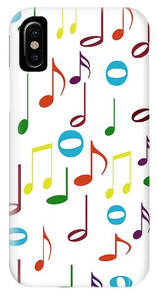 Rainbow Notes IPhone Case