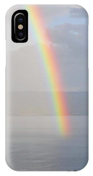 Rainbow Over Sea Of Galilee IPhone Case