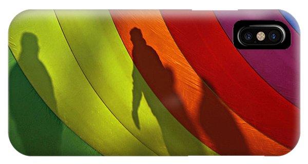 Rainbow Shadows IPhone Case