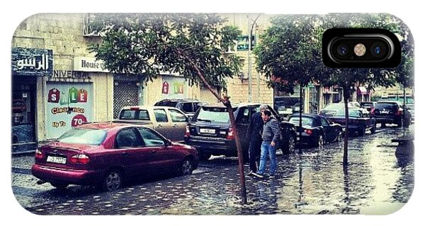Classic iPhone Case - Rainbow Street #amman #jo #jordan by Abdelrahman Alawwad