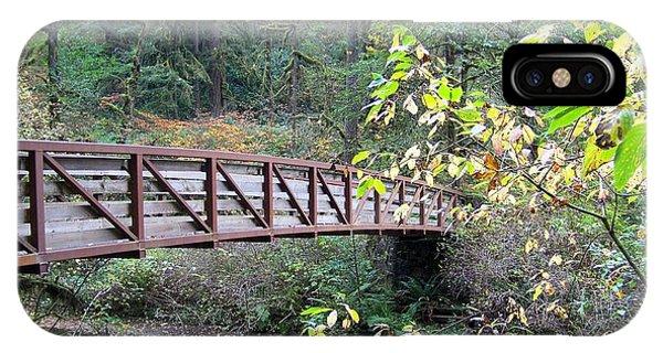 Rainforest Bridge IPhone Case