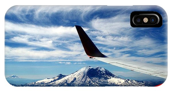 Rainier The Beautiful  3 IPhone Case