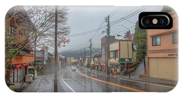 Rainy Day Nikko IPhone Case