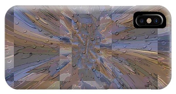 Purple Rain iPhone Case - Rainy Day Portal 1 by Tim Allen
