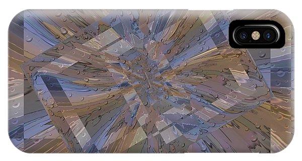 Purple Rain iPhone Case - Rainy Day Portal 2 by Tim Allen