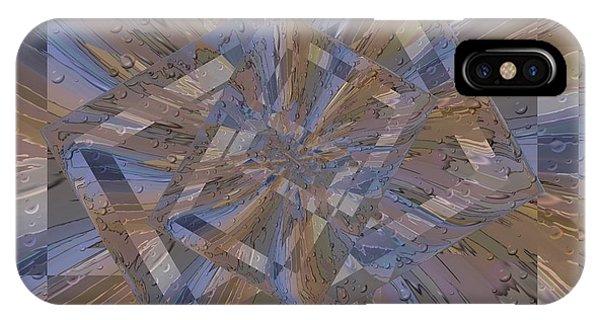 Purple Rain iPhone Case - Rainy Day Portal 3 by Tim Allen
