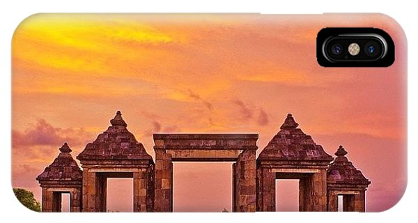 Funny iPhone Case - Ratu Boko Is An Archaeological Site by Tommy Tjahjono