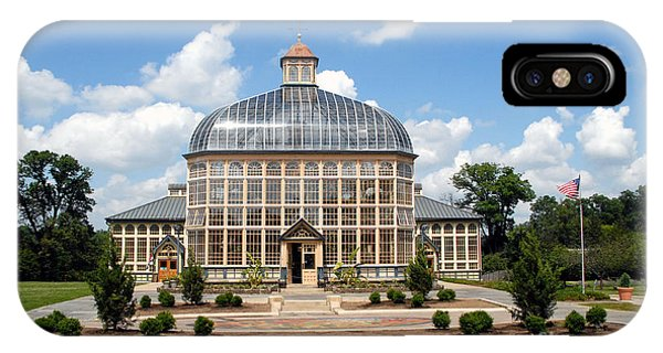 Rawlings Conservatory And Botanic Gardens Of Baltimore 2 IPhone Case