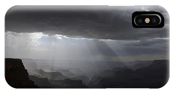 Rays In The Canyon IPhone Case