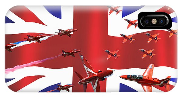 Red Arrows Union Jack IPhone Case