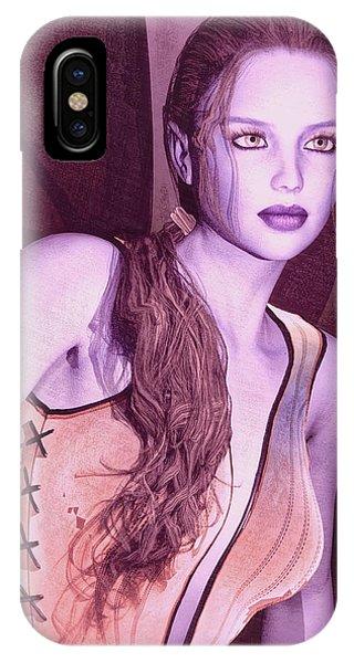 Red Fae IPhone Case