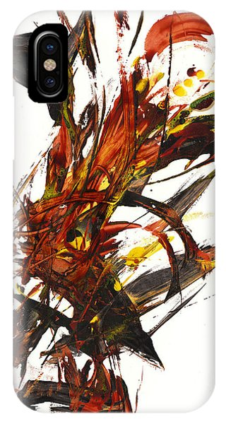 Red Flame II 65.121410 IPhone Case