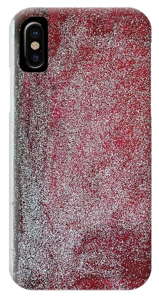Red Galaxy - Abstract IPhone Case