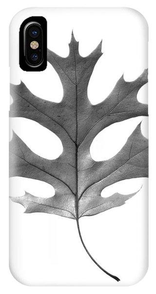 Red Oak Leaf IPhone Case