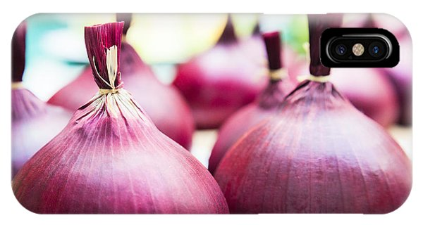 Red Onions IPhone Case