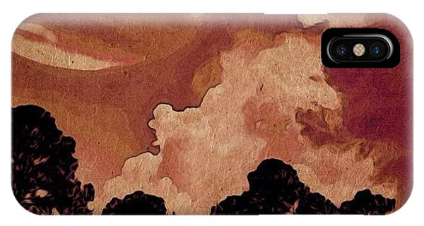 Sunny Days iPhone Case - Red Planet - When Jpiter Collides With by Photography By Boopero