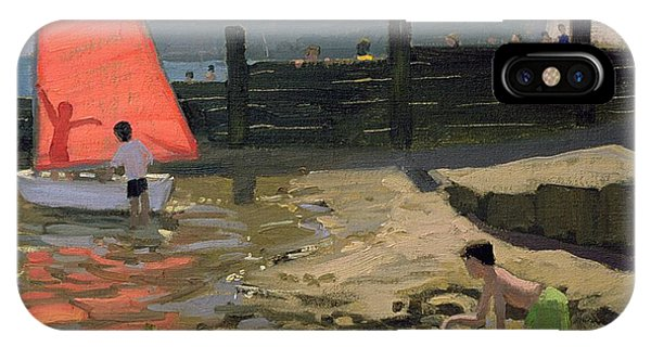 Red Sail Isle Of Wight IPhone Case